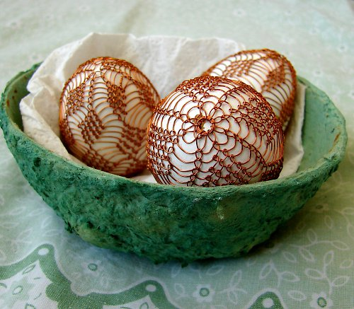 Netradičně zdobená vajíčka
