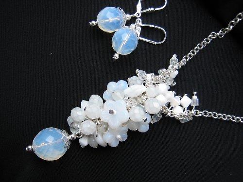 White opal souprava