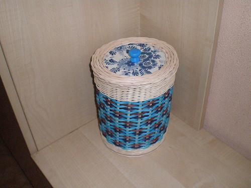 Krabička s modrou
