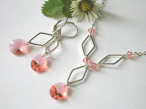 Swarovski Xilion Rose Peach