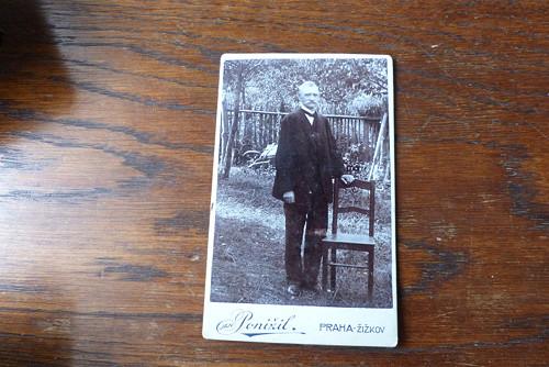 Dědeček Jan... kabinetní fotografie