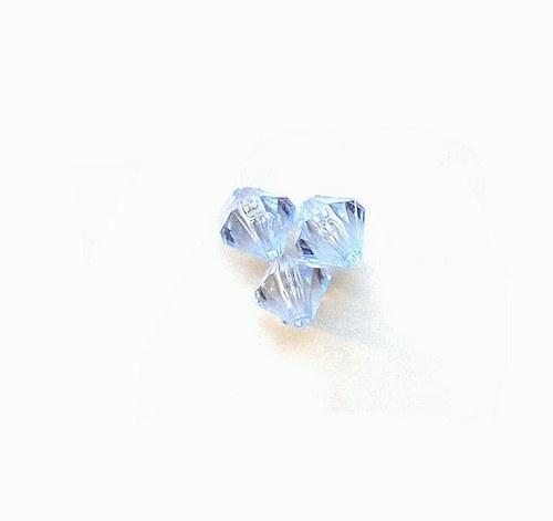 Korálky, sluníčka, 8 mm - 5 kusů
