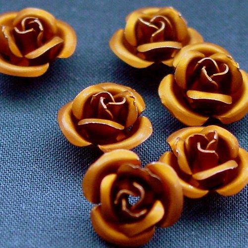 Růžička - bronz 2 ks