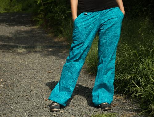 "Kalhoty Harem \""pattern tyrkys\"""