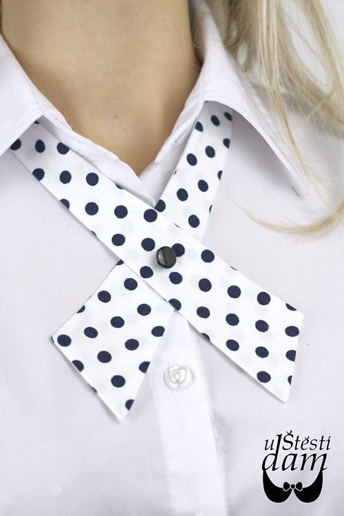 """Dámská kravata \""""Big Polka Dots\"""""""
