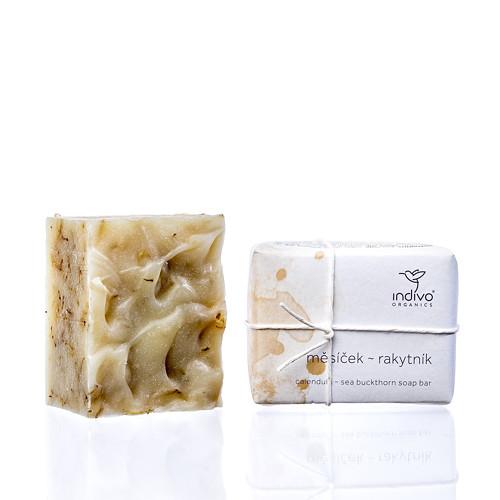 Přírodní mýdlo MĚSÍČEK LÉKAŘSKÝ