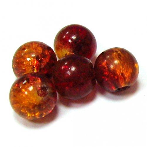 Práskačky - oranžovočervené - 5 ks