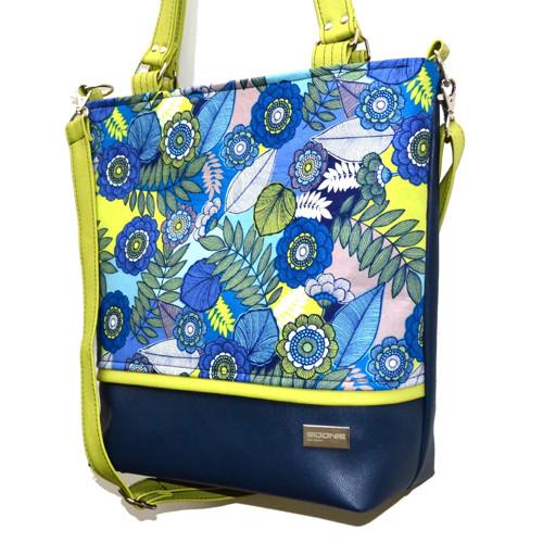 kabelka Roda Chic Blue Flower