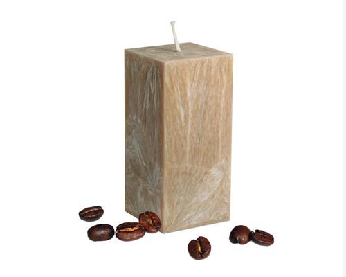 Svíčka z palmového vosku - hranol - slonová kost