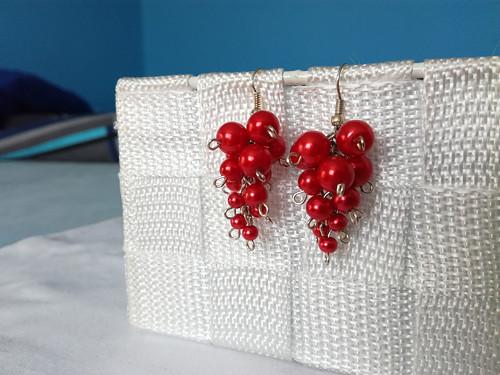 Červené hrozny