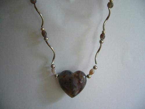 Náhrdelník se srdcem