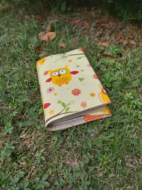 Látkový obal na knihu