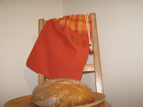 Kanafásek - oranžový s klásky