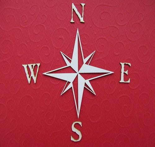Hvězdice se světovými stranami - střední