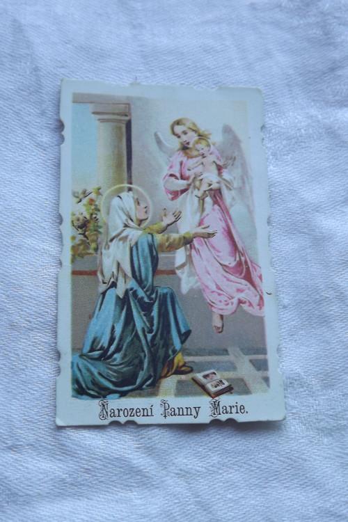 Narození Panny Marie