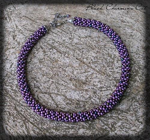 """náhrdelník \""""Violet\"""""""