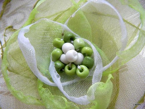 Zelenavá kytička