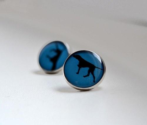 Ohař v modré