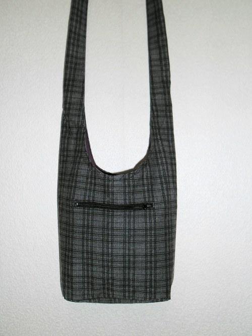 Taškovak šedo-černá kostka