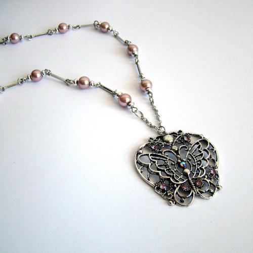 náhrdelník Motýl 3