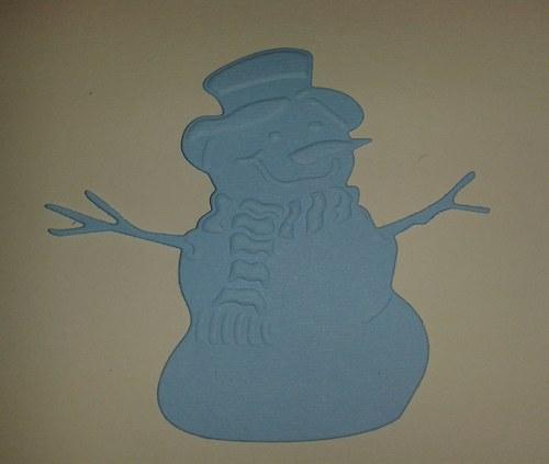 Sněhulák - modrý