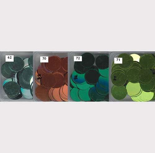 Flitry 20 mm MIX 2 - 4 barvy - bal. 4x5g