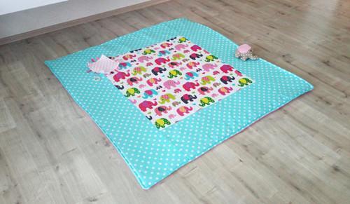 Sloníková hrací deka