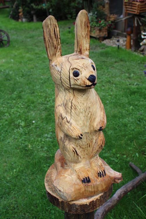 Dekorácia do záhrady: Zajíc