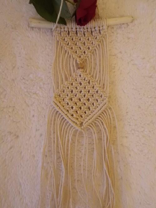 Macramé dekorace mini 3