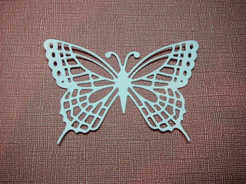 Papírový výsek - motýl