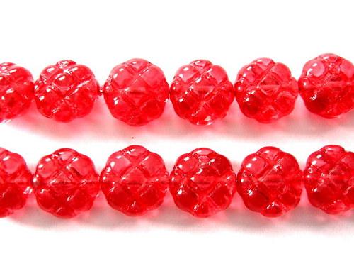 0300929/Mačkané čtyřlístky červené, 10 ks
