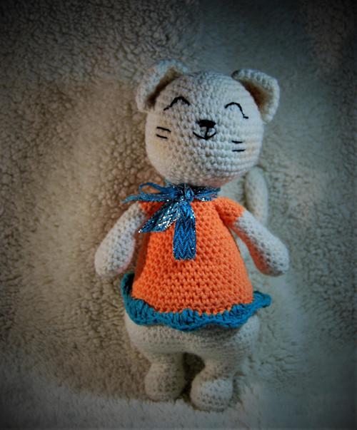 Oranžová kočička
