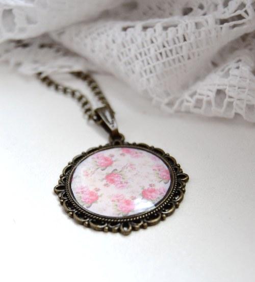 Květovaný jemný vintage
