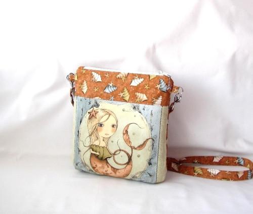 Mořská panna - kabelka pro malé i větší slečny