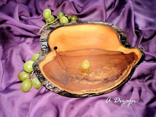 Starobylá miska zo sprchnutej jablone /objednávk