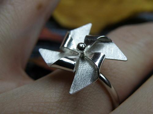 Větrník - prsten