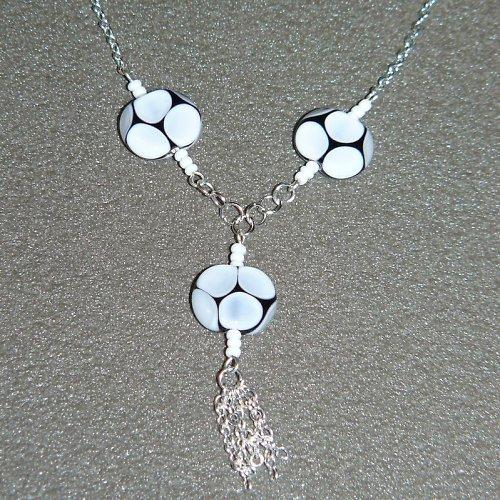 Bílé vinutí - vinuté perle