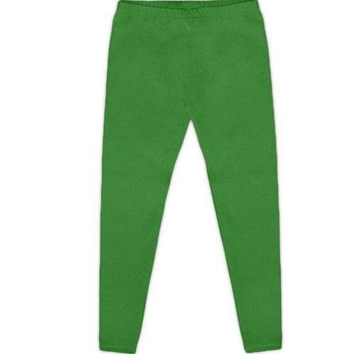 Dětské legíny tmavě zelené