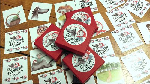 Pohádkové pexeso - Červená karkulka