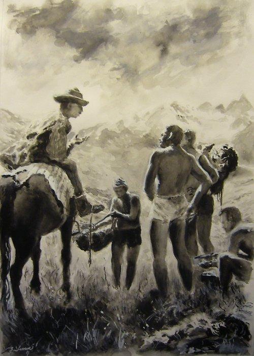 Jan Severa - Setkání v horách