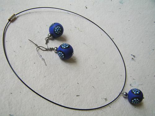 Modrá ulita - set