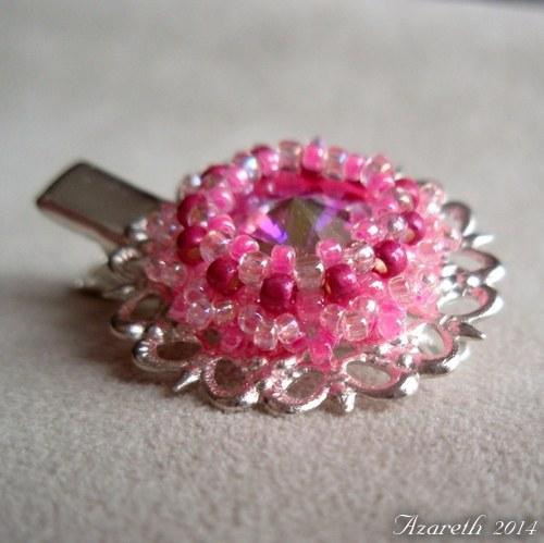 Růžovo-stříbrná pinetka