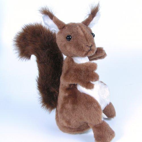Veverka zrzavá - autorská hračka