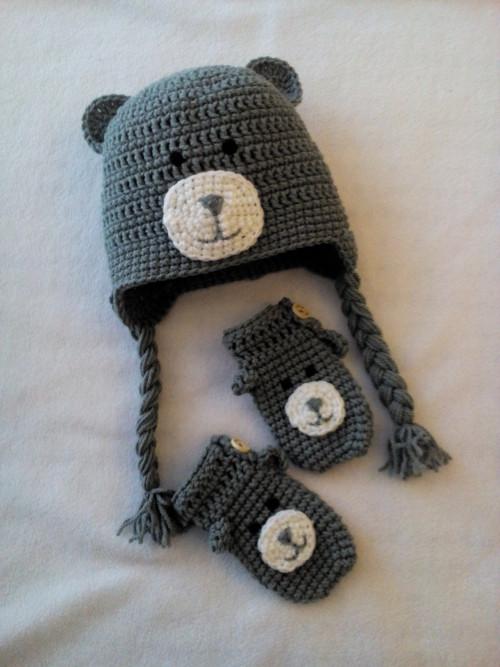 Zimni cepice + rukavicky