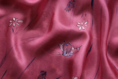 Jaro - růžový šátek