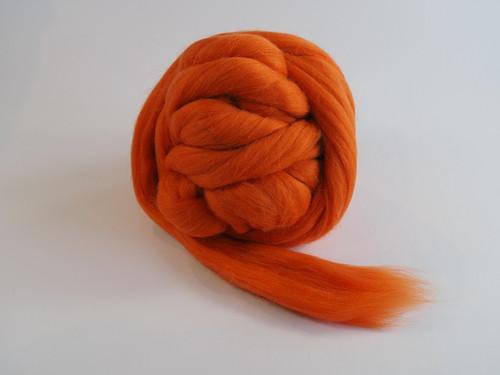 Španělská ovčí vlna - oranžová světlá 20g