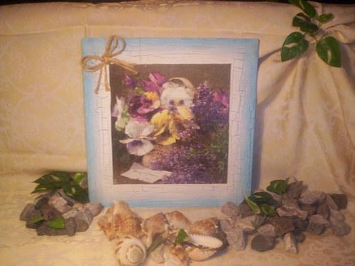 ...a jeden romanticky květinový......