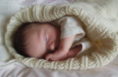 Merino spacáček pro miminko