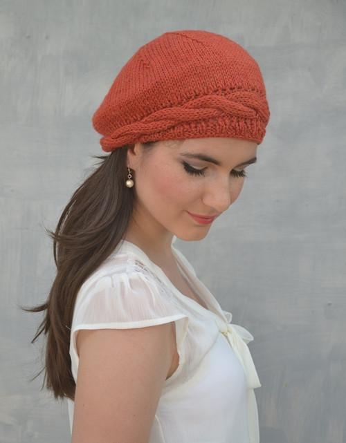 Baret Kwapa v oranžové