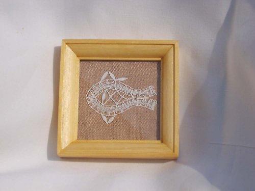 Paličkovaná miniatura - rybička